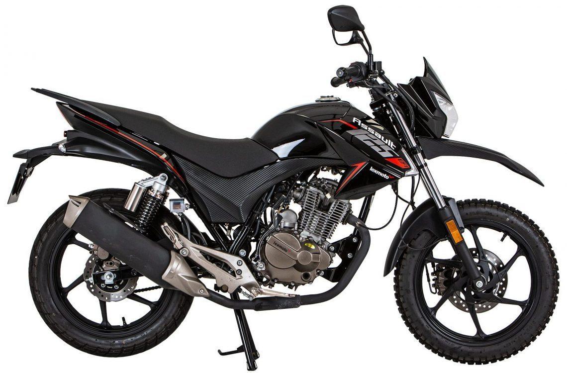 Assault Motorbike Side View 1